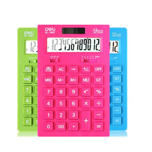 wholesale simple design desktop Colourful cashier calculator