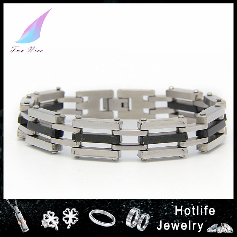 Wholesale men's jcm stainless steel bracelet in hot sell