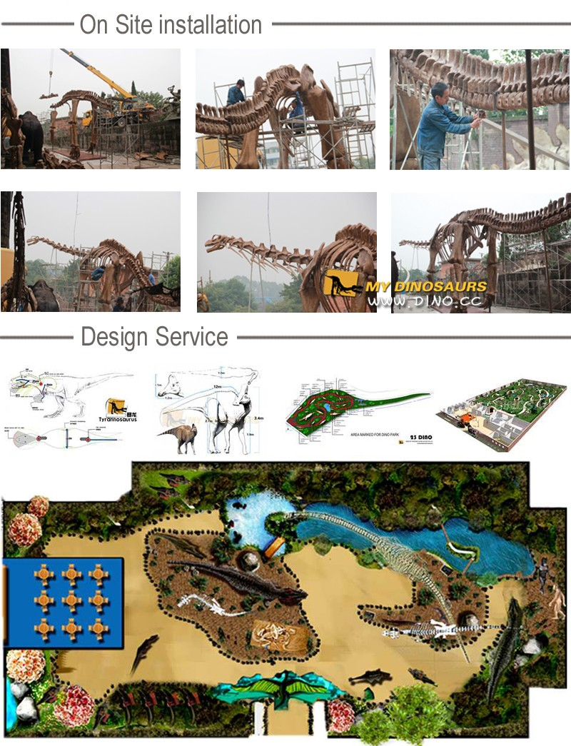 My-Dino S13-9 Children Digging Playground Dinosaur Skeleton Excavation Site