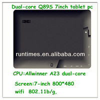 world cheapest laptop 7 inch tablet pc support abdroid wifi bluetooth