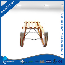 Outdoor Winter eco-friendly Low price folding wooden sledge
