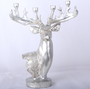 High quality resin candlestick gifts crafts stocks