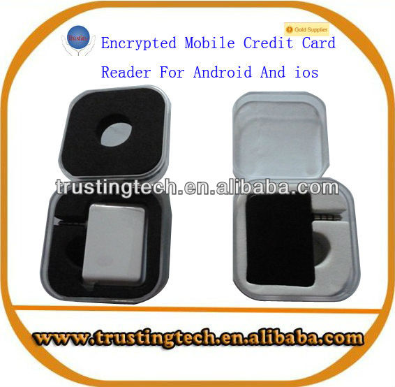 Encrypted Mobile Credit Card Reader For Android And ios Operating System Reading Track1 and 2 Supply SDK Software Development