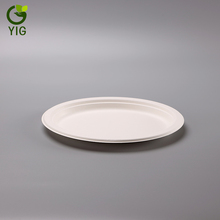 Eco-friendly Compostable Biodegradable Sugarcane Dinnerware Bagasse Paper Pulp Oval <strong>Plate</strong>