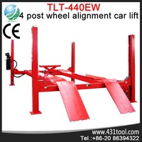 Newly Arrival 4Post Hydraulic Arm Car Lift Garage equipment TLT440EW used 4 post lift
