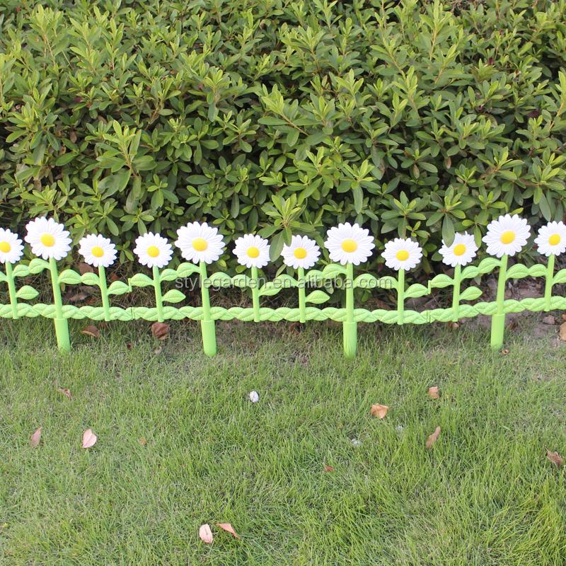 Plastic Flexible Garden Border Edg Flower Pot Chrysanthemum Fence