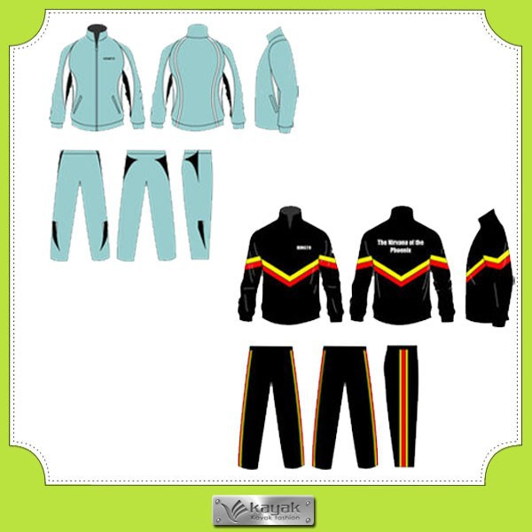Custom fashion design men cotton winter tracksuit 2014
