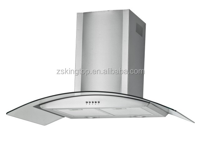 2015 best selling white island range hood