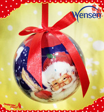 handicraft Santa design Christmas balls Christmas gifts