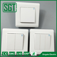 Two gang two way wall switch, light switch