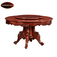 118-AR New design wood dining chair & table classic dining room table