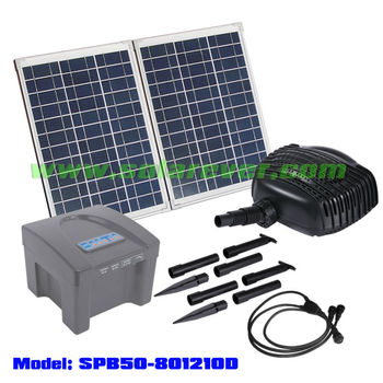 Solar powered swimming pool pump spb50 801210d buy solar powered swimming pool pump swimming for Solar powered swimming pool pumps