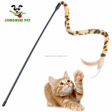 Cat Stick Interactive Funny Flying Feather Cat Toy Teaser Wand Fun Exerciser for Cat