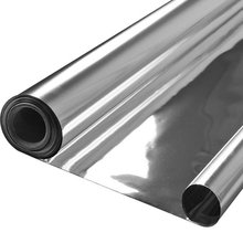 Reflective silver aluminized mylar foil packaging film
