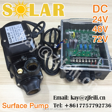 500w dc centrifugal surface booster pump solar booster pump for irrigation surface solar water pumps