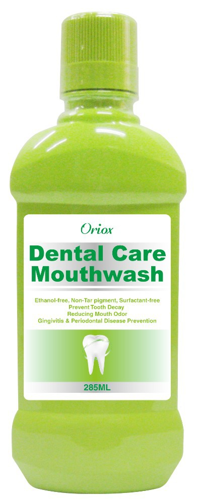 Ethanol free Oriox Dental Care Mouthwash