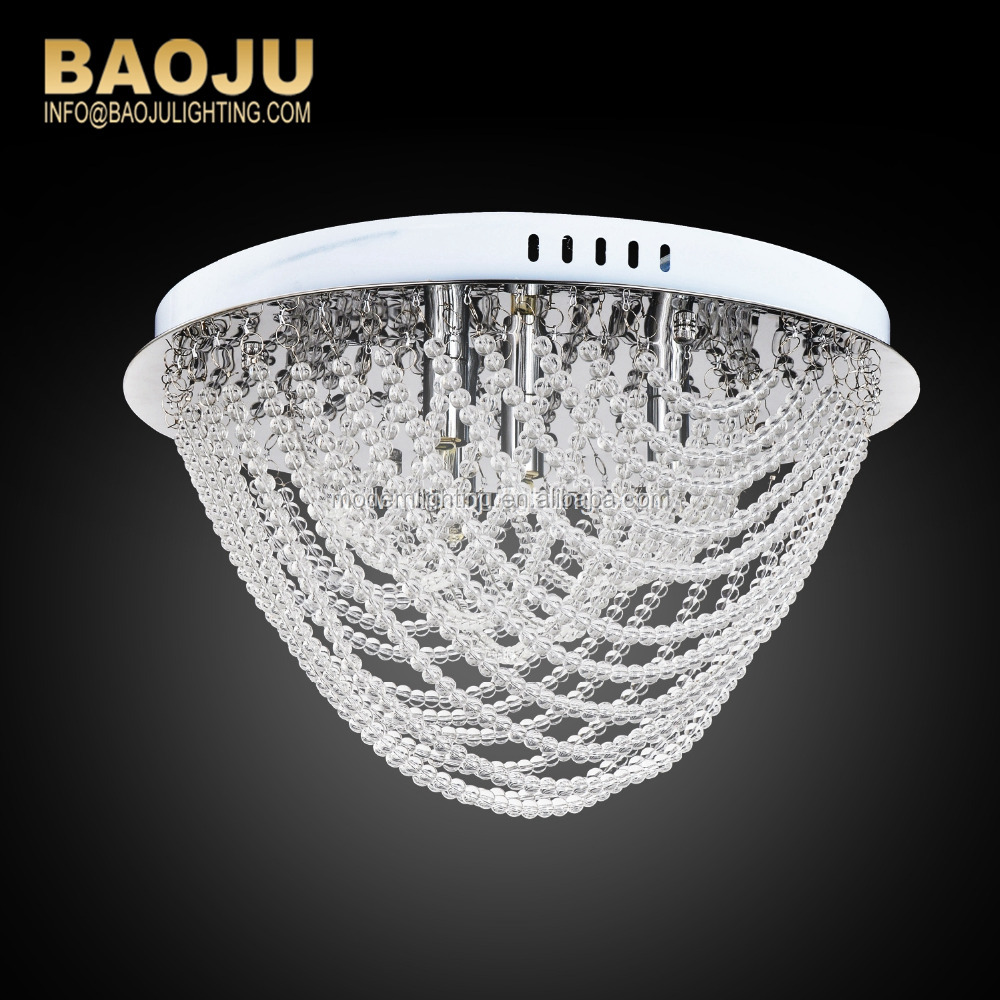 magnifying promotional new products modern pendant light decorative crystal baccarat chandelier replacement parts