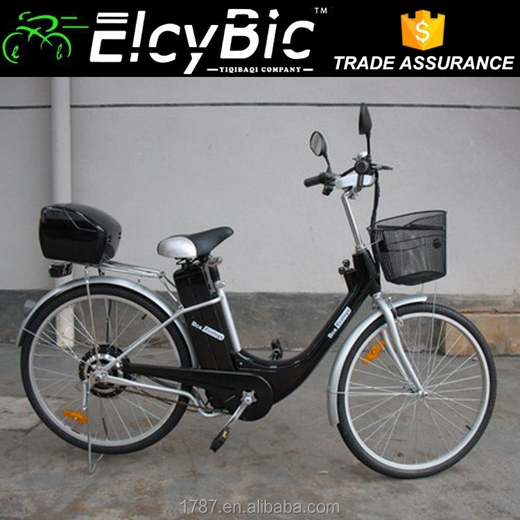 china supplier Step Through Lady steel Electric Bicycle (E-TDH005Z)