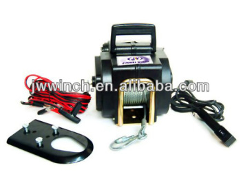 JW2000lbs.Electric ATV/ Boat /Utility Winch with Wireless Remote Control