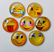 Souvenir Magnetic 3D Refrigerator Custom Emoji Fridge Magnet with Magnet