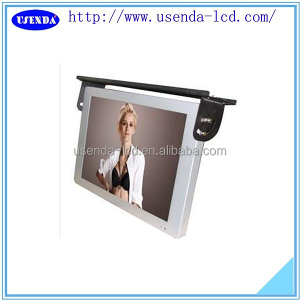 17 19 22 inch wifi/3g bus advertising display lcd