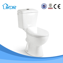 Design sanitary two piece ceramic wholesale bathroom wc vacuum toilet