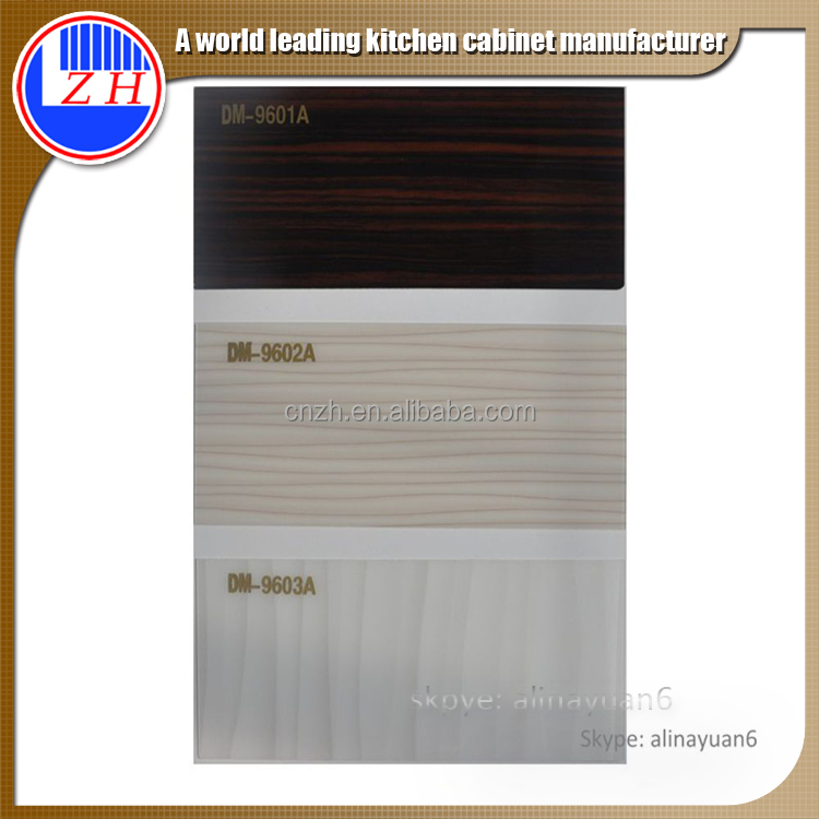 1mm thickness high glossy wood grain color acrylic sheet