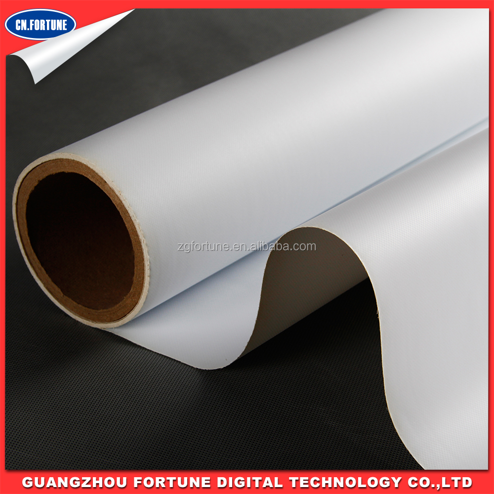 Digital Printable inkjet media Glossy PVC Coated Frontlit 440g flex banner