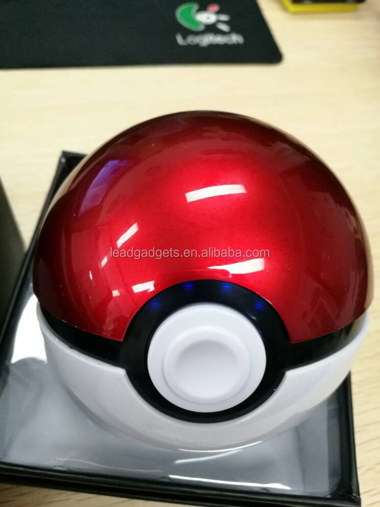 Power Hold Portable Travel mobile pokeball Power Bank for Mobile, Laptop, Ipad,MP3/4/5