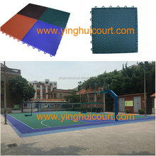 PP Plastic Interlocking Basketball Court Floor Tile