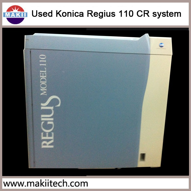 used Konica CR computed radiography system Regius 110 CR system