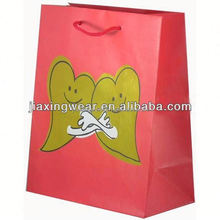 Hot sales happy birthday gift paper bags for shopping and promotiom,good quality fast delivery