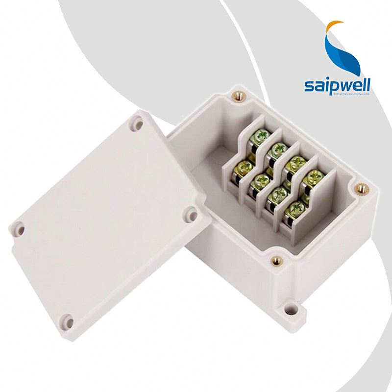 CE Connecting Junction Enclosure 4 Ways Plastic Water Proof Small Plastic Boxes Wholesale