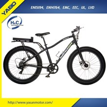 2015 new 26*4.0 inch big tire beach bike snow electric fat bike