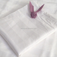 3cm sateen stripe cotton hotel sheeting fabric