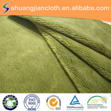 two side 5MM micro velboa fabric plain dyed super soft velvet for garment,home textile