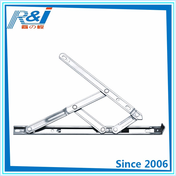 China wholesale four bars double glazing friction stay awning casement window hinge upvc friction hinge for window