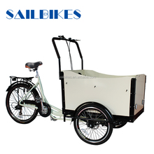 man power tricycle cargo bike with pedals