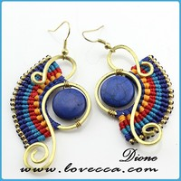 2014 New Arrival !!! Hot sale fashion new design large earring