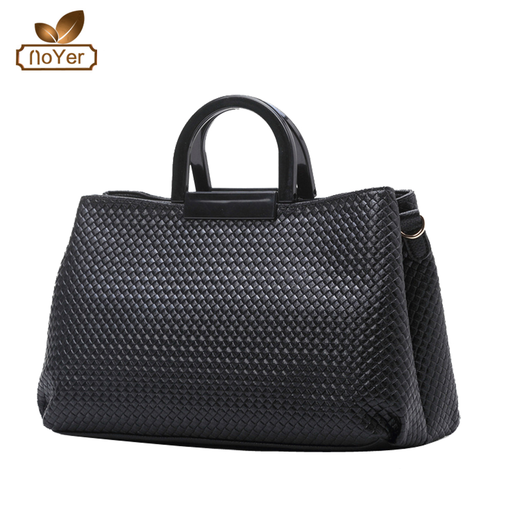 hot new products for 2016 China manufacturer weaved Leather bags ladies soft leather handbags