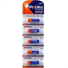 PKCELL 0% hg 12V 27A alkaline battery A27 for remote control