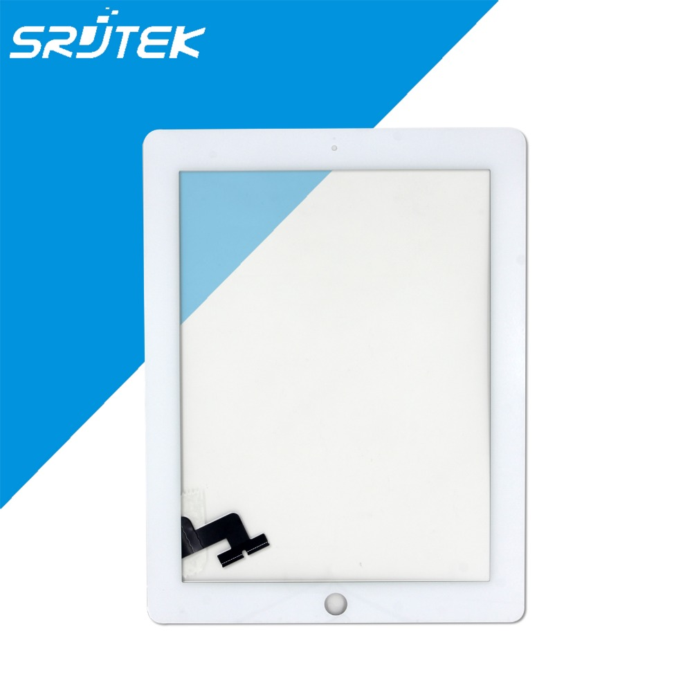 For Apple iPad 2 Touch Screen Digitizer For iPad2 With 3M Adhesive As Gift Black