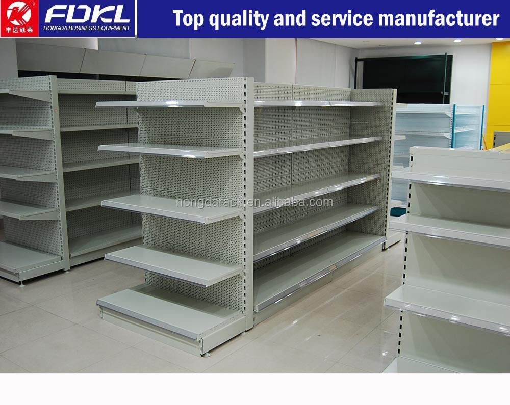 Good quality metal display rack for supermarket