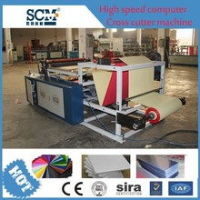 Factory Price Fireworks paper Roll Sheeting Machine,Paper material cross Machinery Cutter