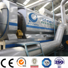 industrial continuous waste tire pyrolysis machine