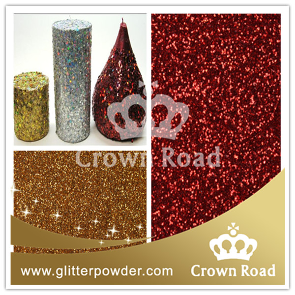 glitter powder used for soy wax flake