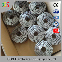 Copper Aluminum Stainless Steel Coil Nail Galvanised Wire Holding Nails wholesale