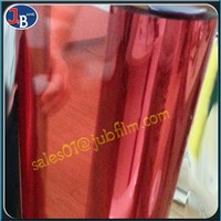 wholesale plastic Colorful PET Film translucent window film