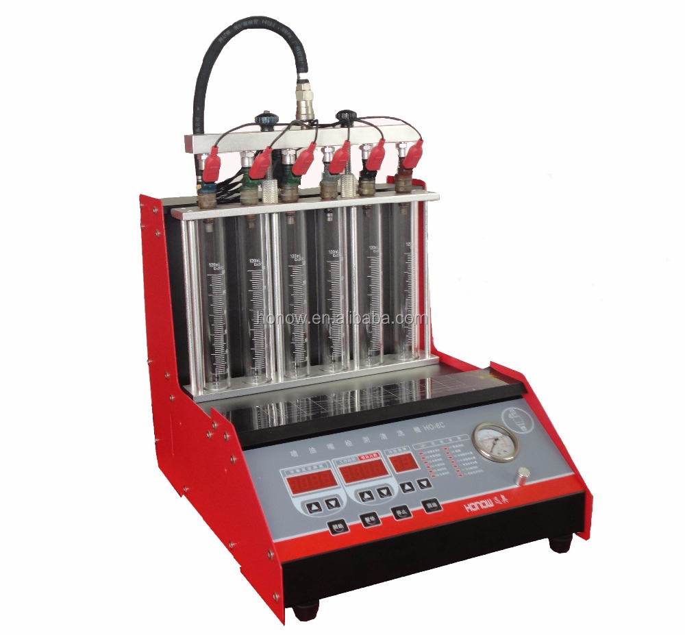 HO-6C Fuel injector cleaning machine