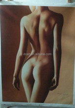 Nude body oil painting woman painting wholesale